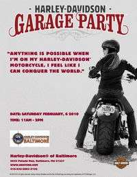 Women Only Garage Party