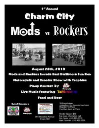 Charm City Mods Vs Rockers 2010