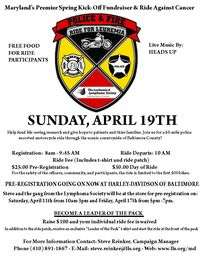 Police and Fire Ride For Lymphoma