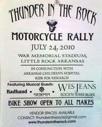 Thunder In The Rock Motorcycle Rally