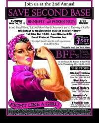 Save Second Base Poker Run - 2nd Annual