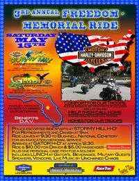 Freedom Memorial Ride To National Cemetery - 3rd Annual