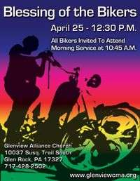 Glenview Alliance Church Blessing Of The Bikers