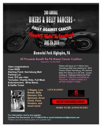 Bikers And Belly Dancers Rally Against Caner - 2nd Annual