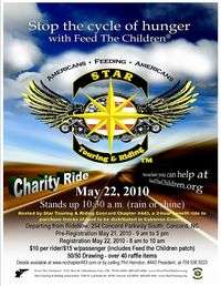 Feed The Children Benefit Ride