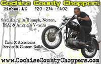 Cochise County Choppers Border Bash Party