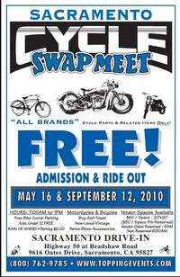 Sacramento Cycle Swap Meet May