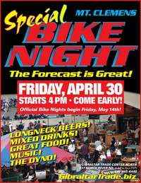 Special Friday Bike Night