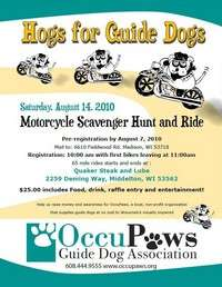 Hogs For Guide Dogs
