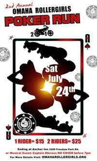 Rollergirls Charity Poker Run - 2nd Annual