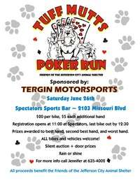 Tuff Mutts Poker Run