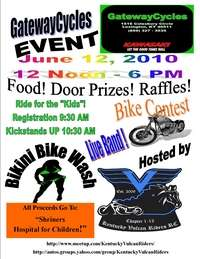 Ride For Kids And Bikini Bike Wash