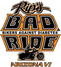 Rips BAD Ride Bikers Against Diabetes