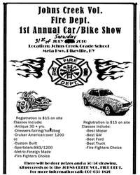 Johns Creek Vol Fire Car and Bike Show