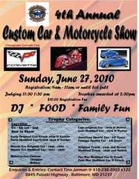 Chesapeake Corvette Auto And Motorcycle Show