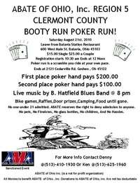 Abate Booty Run Poker Run