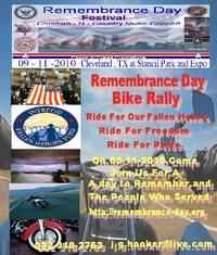 Remembrance Day Festival And Bike Rally