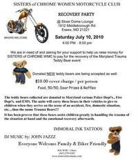 Teddy Bear Recovery Party