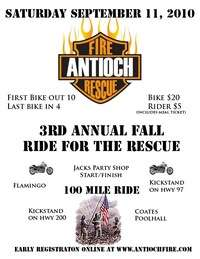 Fall Ride For The Rescue - 3rd Annual