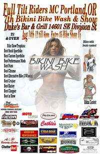 Bikini Bike Wash and Show