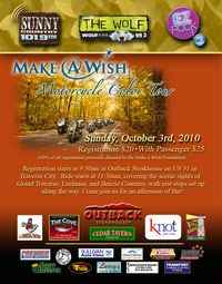 Make A Wish Color Tour Motorcycle Ride