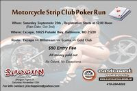 Motorcycle Strip Club Poker Run
