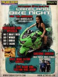 Oct Lakeland Bike Night