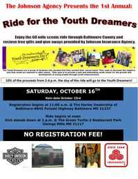 Ride For The Youth Dreamers