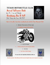 Titans Mc Halloween Bash