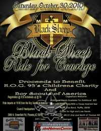 Black Sheep Ride For Courage