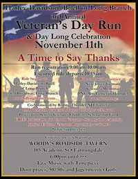 Veterans Day Run - 3rd Annual