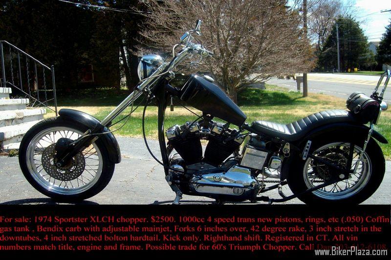 Harley-Davidson - Sportster 1974