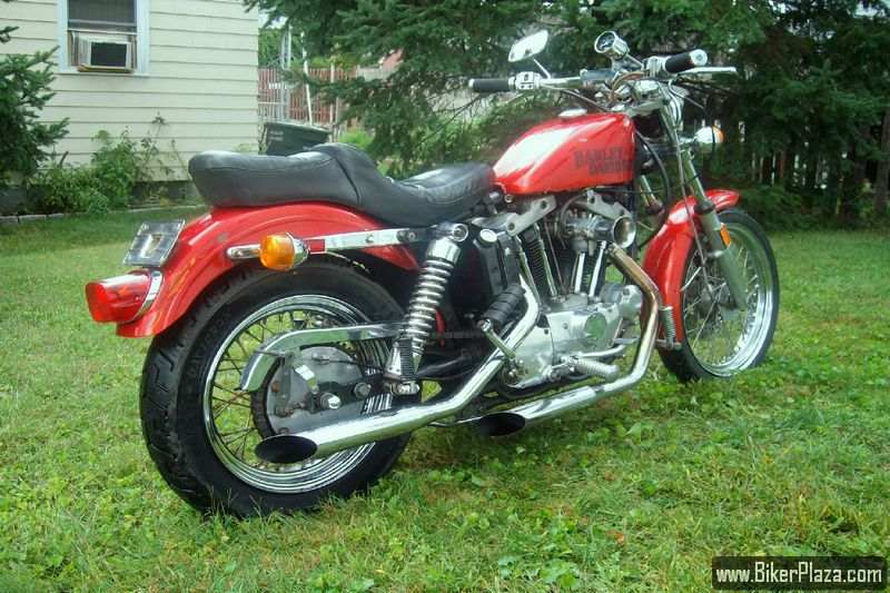 Harley Davidson Sportster Xlch 1977 Pictures