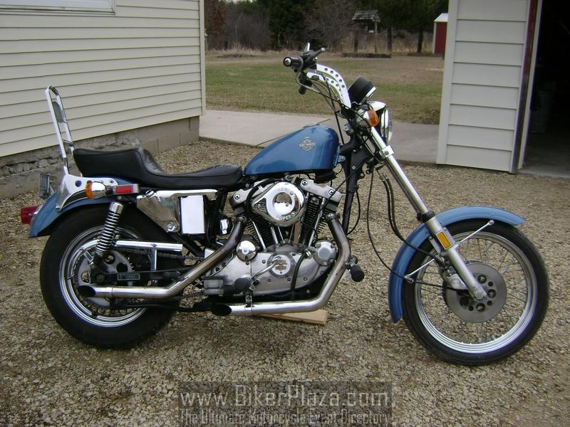 Harley Davidson Sportster 1980