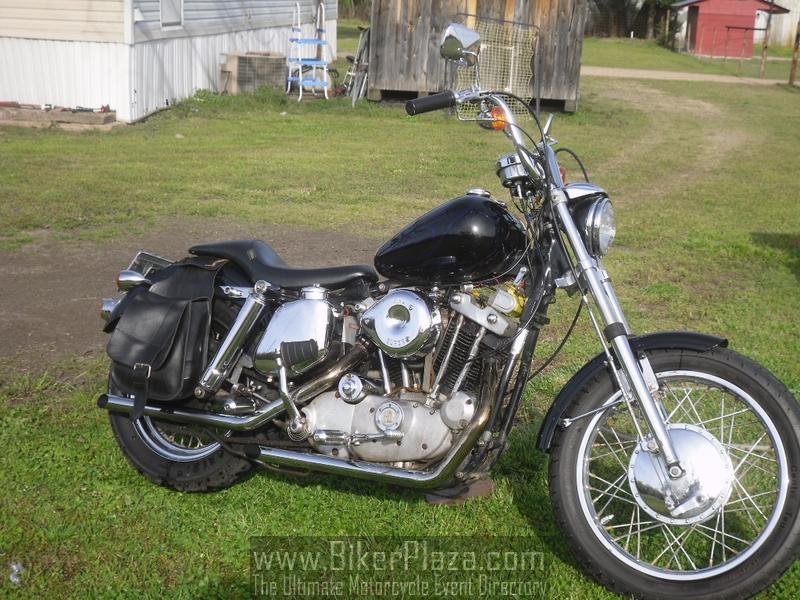 Harley Davidson Xlh Sportster 1972 Pictures