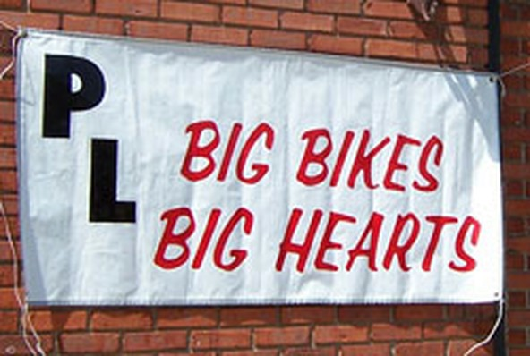 Big Bikes Big Hearts Ride The Plank Motorcycle Tour 2009