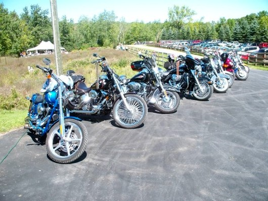 Bikers and Barkers Charity Poker Run 2009