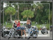 Motorcycle Round Up At Rodeo Grill In Labelle