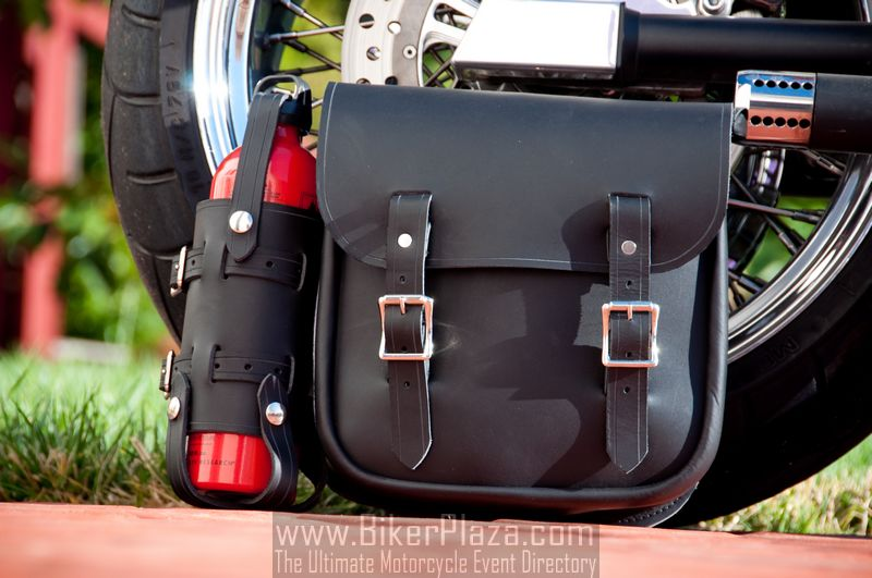 Nash Saneho Motorcycle Leather Bag - BikerPlaza.com