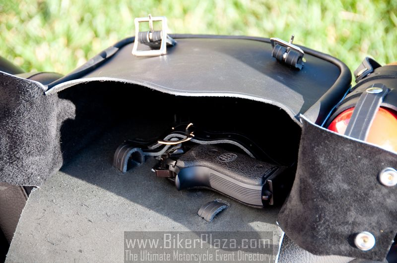 Nash Saneho Motorcycle Leather Bag - BikerPlaza.com